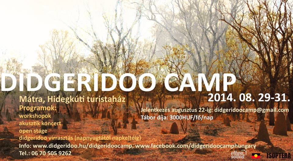 didgeridoo camp 2014