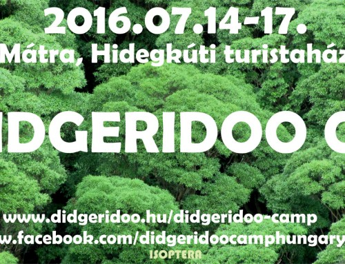 III. Didgeridoo Camp