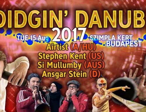 Didgin Danube – Didgeridoo Koncert