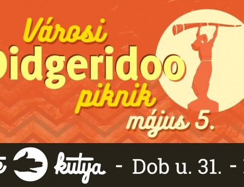 Városi Didgeridoo Piknik május 5.