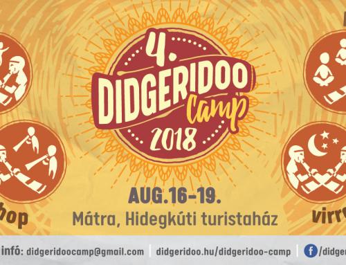 Didgeridoo Tábor 2018