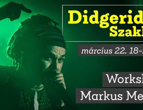 Didgeridoo Workshop – Markus Meurer