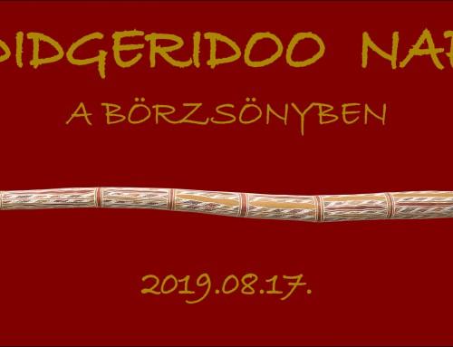 Didgeridoo Nap a Börzsönyben