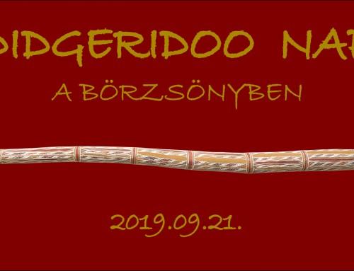 Nyárbúcsúztató Didgeridoo Nap