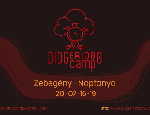 Didgeridoo Tábor 2020